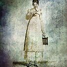 FASHIONABLE LADIES FRENCH DAY DRESS 1813  by Tammera