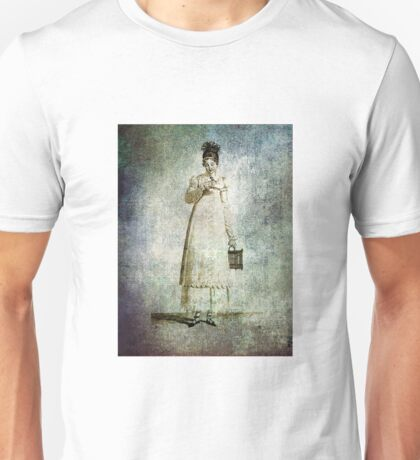 FASHIONABLE LADIES FRENCH DAY DRESS 1813  Unisex T-Shirt