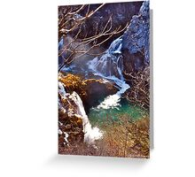 Plitvice IV Greeting Card