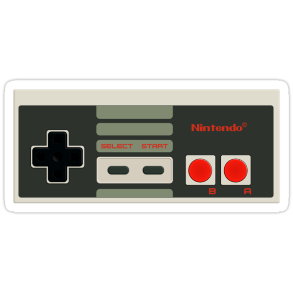 NES Controller by SvenS