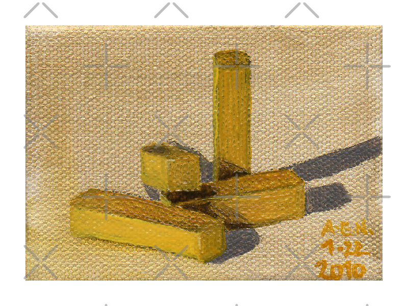 Yellow Blocks by Amy-Elyse Neer