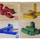 Blocks Series Print by Amy-Elyse Neer