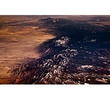 Mid West Terrain  Photographic Print