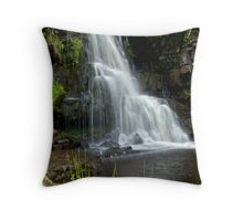 East Gill Force Near Keld #4 Throw Pillow