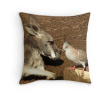Restful Pair Throw Pillow