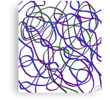 silly string Canvas Print