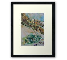 Bright Angel Trail of the Grand Canyon Framed Print