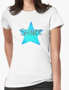 [KPOP] SHINee Star Design Womens Fitted T-Shirt