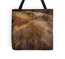 Eagle Fence Tote Bag