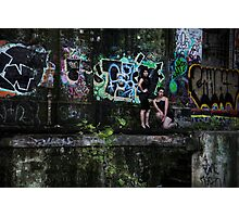 Reese and Shani Photographic Print