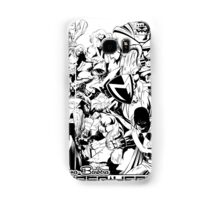 HANNA-BARBERA SUPER HEROES BLACK AND WHITE Samsung Galaxy Case/Skin