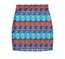 theatre of life artistry - the artists' shingle Mini Skirt