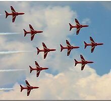 The Beautiful Red Arrows by CraigSev
