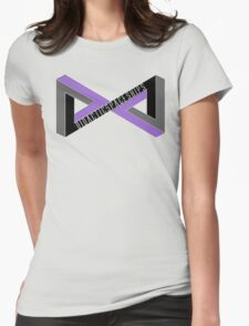 Didactic Infinity (Purple) Womens Fitted T-Shirt