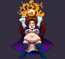Ample Adventurer - Dwarf Wizard Unisex T-Shirt