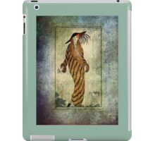 FASHIONABLE LADIES FUR COAT 1812 iPad Case/Skin