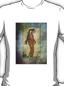 FASHIONABLE LADIES FUR COAT 1812 T-Shirt