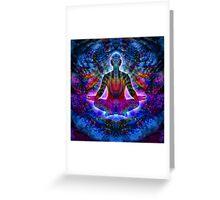 Mayan meditation Greeting Card
