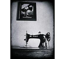 Yesterday Photographic Print