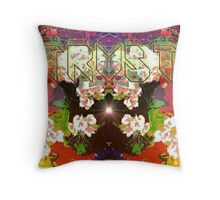 "Photo Series: Image Number 131L (15 images in this ""secret garden"" edition), reworked digitally to create ""Trust"" Throw Pillow"
