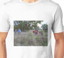 Farmer and best friends Unisex T-Shirt