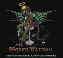 FossilTattoo.com Tshirt Design 1 by FossilTattoo