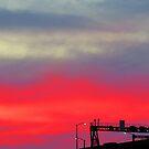 Pink Sunset by janewiebenga