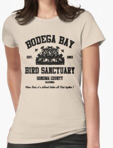 BODEGA BAY BIRD SANCTUARY Womens Fitted T-Shirt