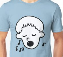 Boy Singing Unisex T-Shirt