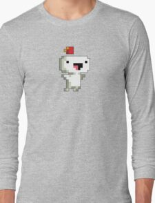 Gomez from Fez Takes Flight! Long Sleeve T-Shirt