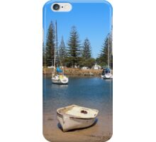 Anyone for fishing!  Yamba on the mouth of the Clarence River, NSW Australia iPhone Case/Skin