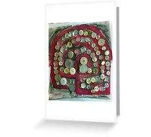 Finger labyrinth Greeting Card
