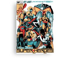 HANNA-BARBERA SUPER HEROES Canvas Print