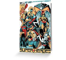 HANNA-BARBERA SUPER HEROES Greeting Card