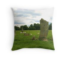 Kilmartin Glen, Argyll Throw Pillow