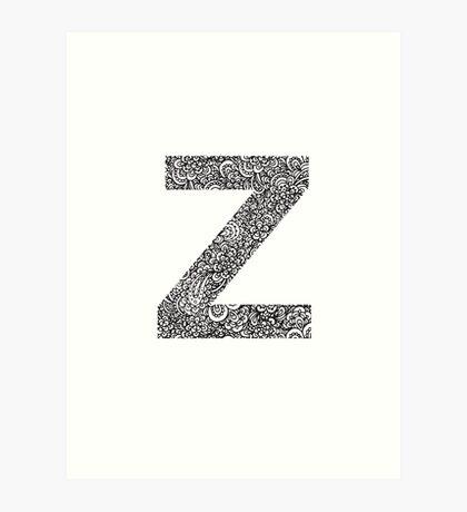 Z Art Print