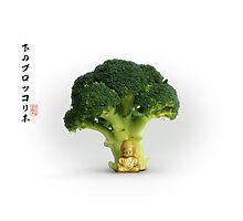 Under the Broccoli Tree Photographic Print