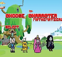 Adventure Time- Choose Character by xsparky