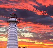 Cleveland Lighthouse by Karen Duffy