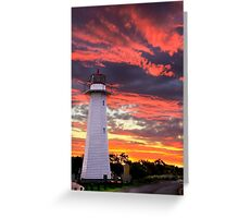 Cleveland Lighthouse Greeting Card