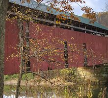 Covered Bridge - Bea Kennedy Photography by Bea Kennedy