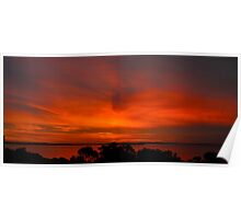 Tonight's Coffin Bay sunset Poster
