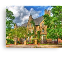 UW Madison Sorority House Canvas Print