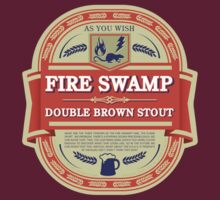 Fire Swamp Double Brown Stout by rexraygun