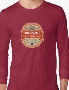 Fire Swamp Double Brown Stout Long Sleeve T-Shirt
