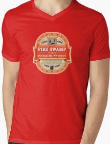 Fire Swamp Double Brown Stout Mens V-Neck T-Shirt
