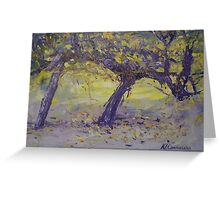 Glory of the Wine Vine! Greeting Card