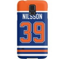 Edmonton Oilers Anders Nilsson Jersey Back Phone Case Samsung Galaxy Case/Skin