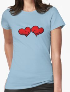 Sweet 2 red hearts in love T-Shirt