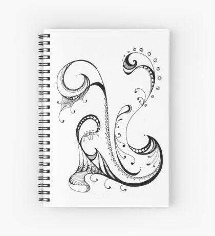 Abstract Swirls  Spiral Notebook